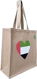 UAE Flag Bag - Reusable shopping Dubai souvenir bag