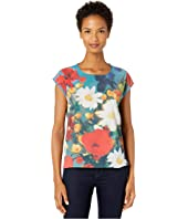 Paul Smith - Mixed Media Flower T-Shirt