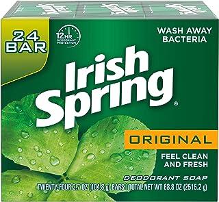 صابون بار دئودورانت اصلی ایرلندی بهار ، 3.7 اونس ، 3 بسته x 8 بسته = 24 میله