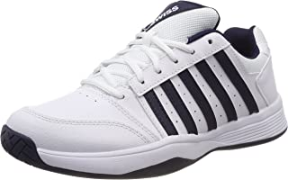 K Swiss Men's Smash Tennis Shoes, White