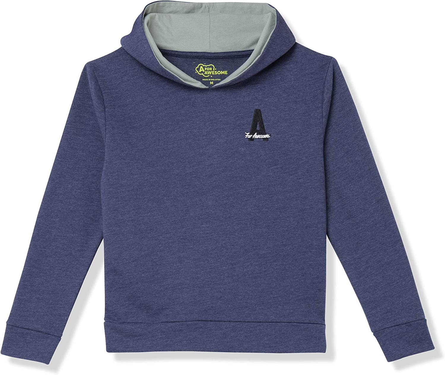 A for Awesome Boys Long Max 55% Cheap bargain OFF Hoodie Pullover Sweatshirt Sleeve