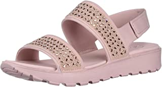 Skechers FOOTSTEPS - GLAM PARTY - Rhinestone Molded Sling Back with Luxe Foam womens Sandal