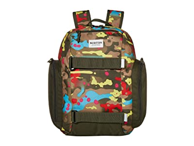 Burton Kids Metalhead 18L Backpack (Little Kids/Big Kids) (Bright Birch Camo Print) Backpack Bags