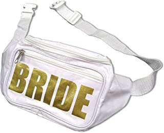 Funny Bone Products Bachelorette Party Bride Tribe Fanny Waist Pack Adjustable 2 Pocket Bachelorette Ideas Accessories by