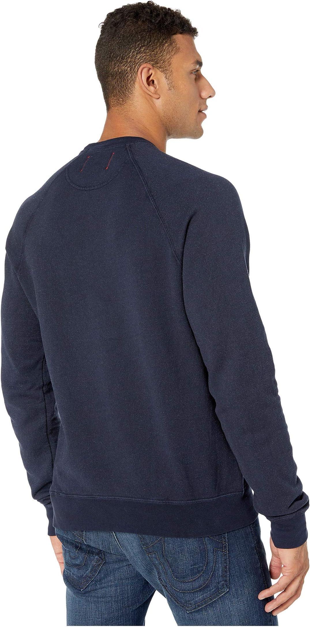 Hanes 1901 Heritage Fleece V-Notch Crew Neck Sweatshirt mHYKr