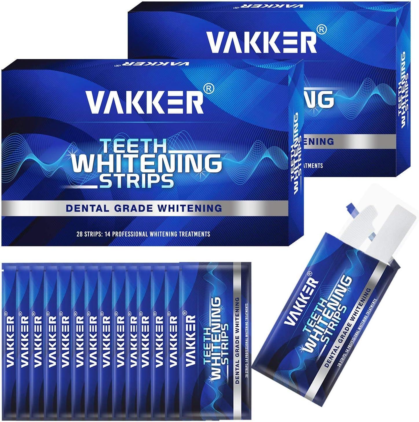 San Antonio Mall Teeth Whitening Strip VAKKER 28 Very popular Teet Non-Sensitive White Strips