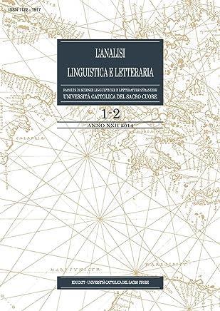 LAnalisi Linguistica e Letteraria 2014