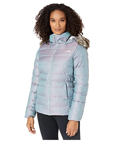 The North Face Gotham Jacket II (Blue Frost Iridescent) Women