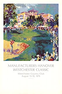 LEROY NEIMAN-Manufacturers Hanover Westchester Classic-1979 Poster