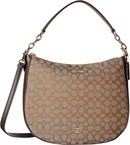 COACH - Chelsea 32 Hobo in Signature