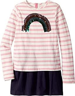 Pink Stripe Sequin Rainbow