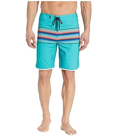 Hurley 20 Phantom Baja Malibu Boardshorts (Hyper Jade) Men