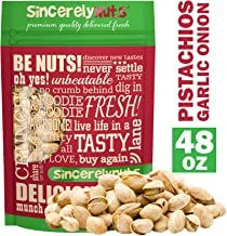 garlic and onion pistachios