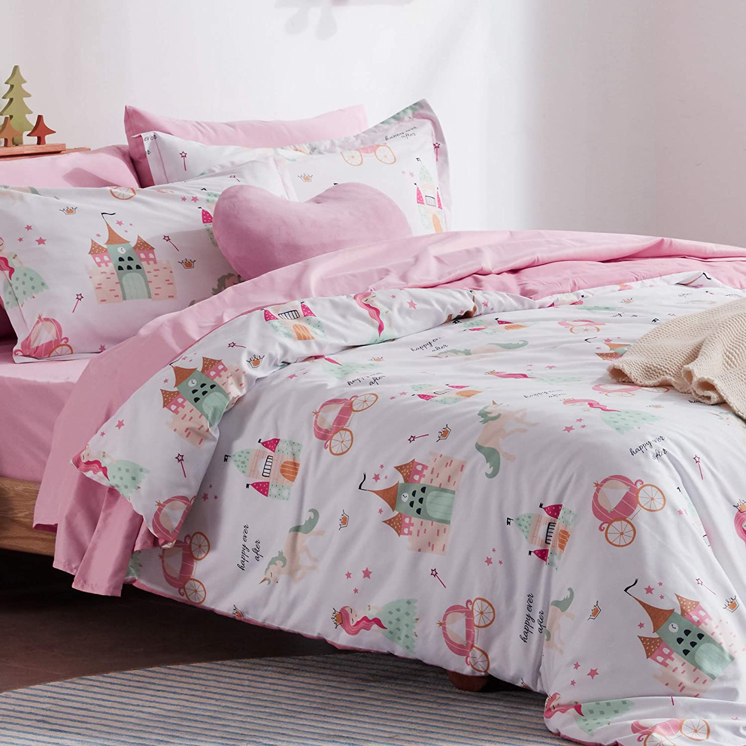 SLEEP ZONE Kids Printed Duvet Cover Financial sales sale Soft Brus Set Ultra Cheap mail order shopping Pieces 2
