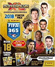 2018 Panini TOP TEAMS FIFA 365 Adrenalyn Soccer Cards OFFICIAL STARTER KIT. Includes album, game board, two 9-card packs of cards Including a LIMITED EDITION CARD of a Star Player. USA Seller!