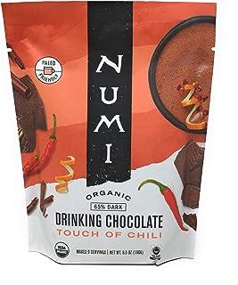 NUMI Organic Touch of Chili Drinking Chocolate, 6.3 OZ
