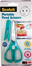 Scotch Portable Food Scissors (Anti-bacterial), Blue