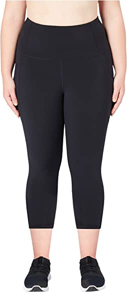 Onstride Plus Size High-Waisted Run 7/8 Crop Leggings