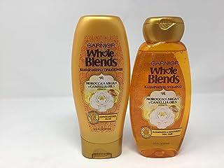 Garnier Whole Blends Moroccan Argan Camellia Oils Shampoo & Conditioner