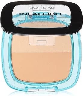 L'Oréal Paris Infallible Pro Glow Pressed Powder, Sand Beige, 0.31 oz.