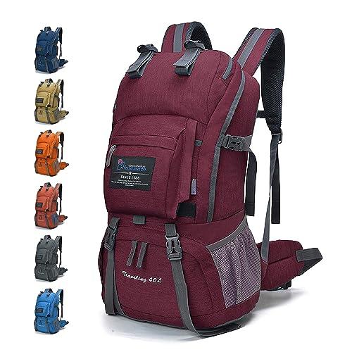 6e4b04beb3333 MOUNTAINTOP 40L Rucksack Wanderrucksack Trekkingrucksack Daypack für  Radfahren Reisen Klettern Outdoor Sport