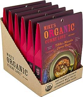 Tikka Masala Curry Paste ORGANIC | case of 6 x 2.8 oz pouches