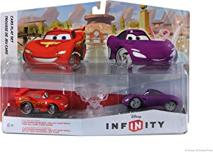 Disney Infinty Cars Playset Pack Lightning McQueen and Holley Shiftwell photo