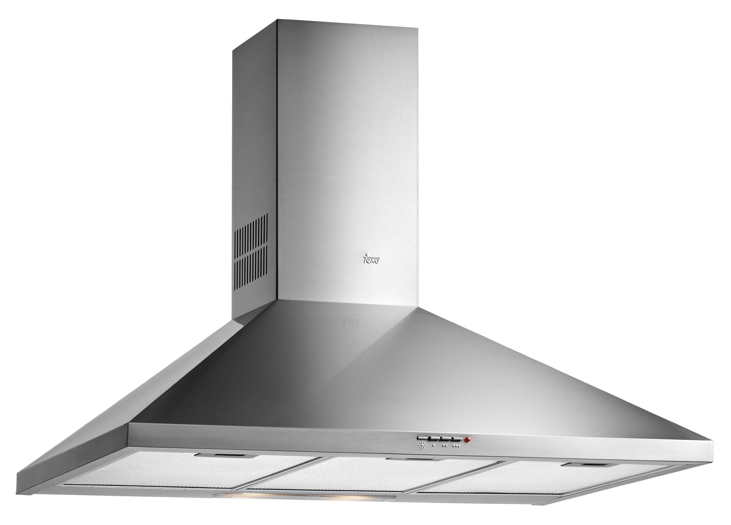 Teka DBB 60/70/90 Campana DBB90X Decorativa INOX 90CMT E, 40 W, 3 Velocidades, Acero inoxidable: Amazon.es: Grandes electrodomésticos