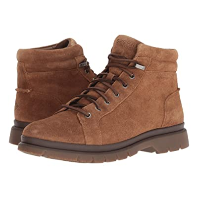 Sperry Watertown LTT Boot (Brown Suede) Men