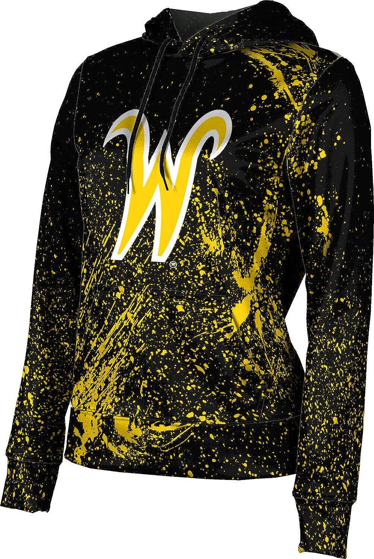 ProSphere Wichita State University Girls' Pullover Hoodie, School Spirit Sweatshirt (Splatter)