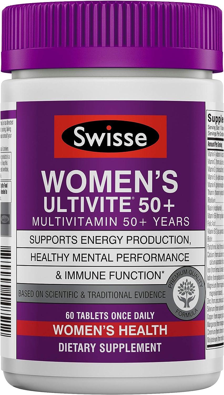 San Diego Mall Max 72% OFF Swisse Premium Ultivite Daily Multivitamin Plus Women 50 E for