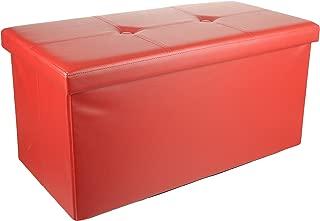 Unity Signature Foldable Double Storage Ottoman, 30