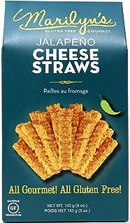 Marilyn's Gluten Free, Gourmet Jalapeno Cheese Straws, 5 oz