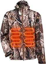 ITIEBO Men's Heated Jacket Electric Battery Pack: Waterproof Warm Heated Clothes