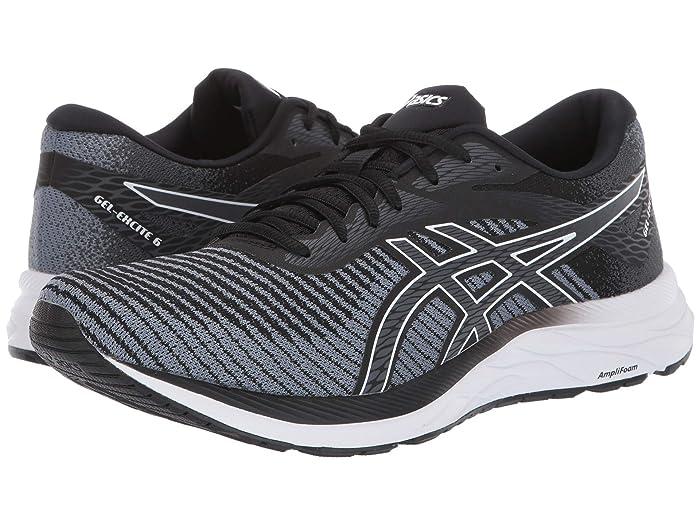 ASICS  GEL-Excite 6 (Black/White 2) Mens Running Shoes