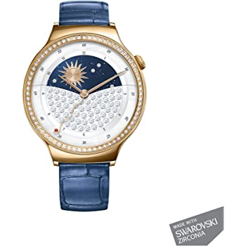 Huawei Smartwatch for iPhone, Android Smartphones - Retail Packaging - Jewel/Sapphire