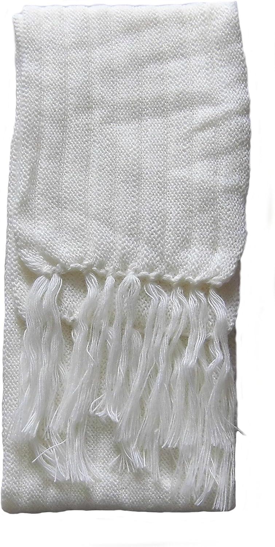 Alpakaandmore Unisex 100% Alpaca Wool Scarf, Shawl Stripes 63