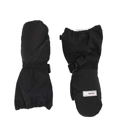 reima Reimatec Mittens Ote (Infant/Toddler/Little Kids/Big Kids) (Black) Ski Gloves