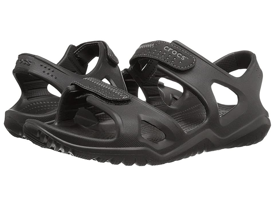 Crocs Swiftwater River Sandal (Black/Black) Men's Sandals