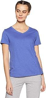 Van Heusen Athleisure Women's Plain Regular fit T-Shirt