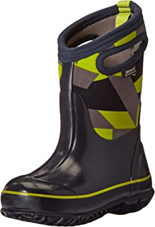 Kids' Classic High Waterproof Insulated Rubber Neoprene Rain Boot Snow