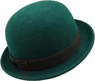 HATsanity Unisex Fashion Wool Felt Soft Bowler Hat