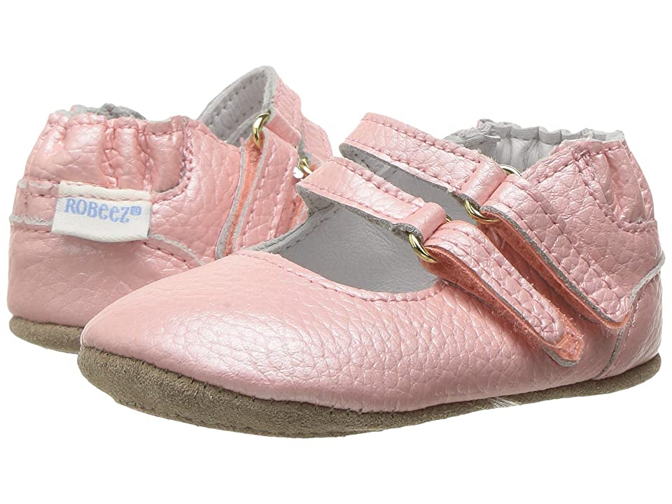 Robeez Rose Mini Shoez (Infant/Toddler) (Rose) Girl