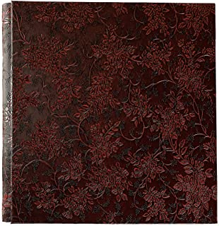 Xerhnan Leather Cover Photo Album 600 Pockets Hold 4x6 Photos(Red Wine)
