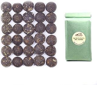 LWXLJMJZC-Ripe(Cook) & Raw(Uncook) Puerh Tea Cake-Pu-erh Tea -Rice Balls Pu'erh Tea - Mini Tuo Cha - 30pcs(15 Tastes*2pcs)