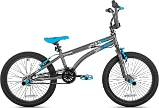 X Games FS20 Single Speed 20 Inch Wheel Freestyle Trick BMX Bike, Dark Grey