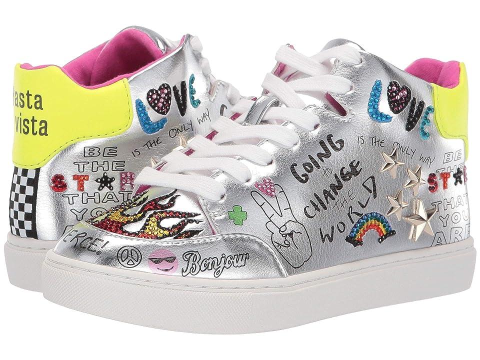 Steve Madden Kids Jpower (Little Kid/Big Kid) (Silver Multi) Girls Shoes