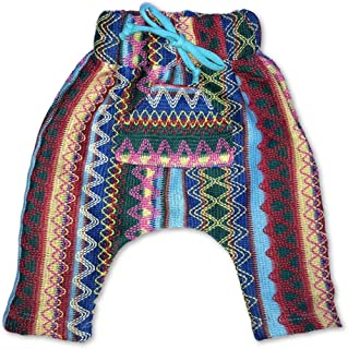 Infant/Toddler Colorful Zig Zag Knit Sweater Baja Harem Pants