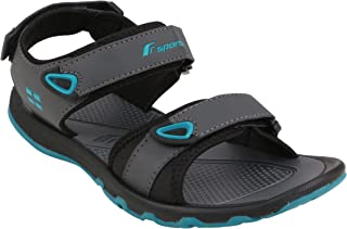 Fsports Men's Grey Turquoise Blue Colour Ocean Series Synthetic Casual Sandal 8UK