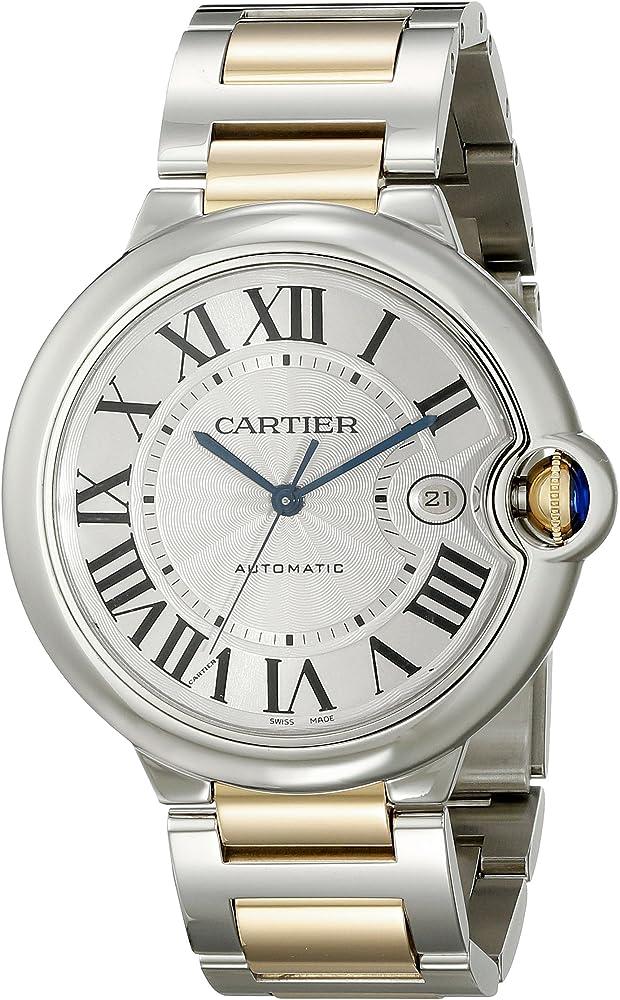 Cartier orologio da uomo automatico in acciaio inossidabile W69009Z3